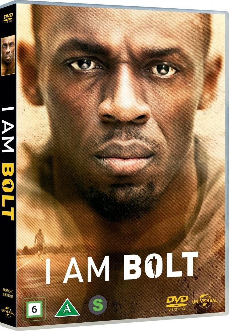 Image of   I Am Bolt - Usain Bolt Dokumentar - DVD - Film