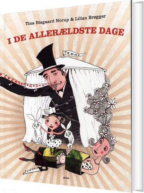 Image of   I De Allerældste Dage - Tina Bisgaard Norup - Bog
