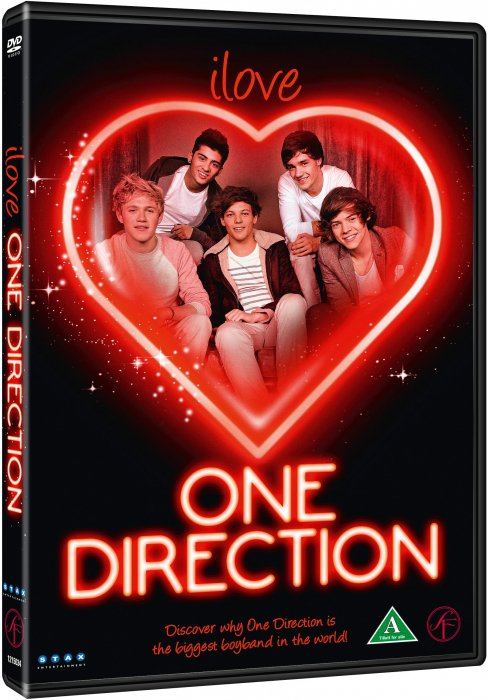 Image of   I Love One Direction - DVD - Film