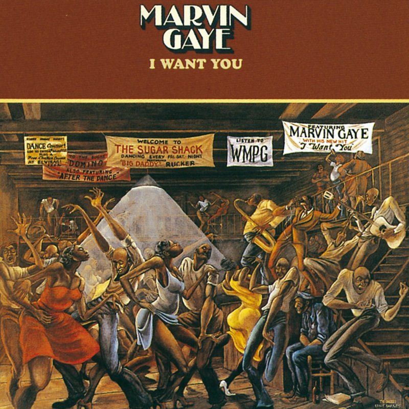 Image of   Marvin Gaye - I Want You - Vinyl / LP