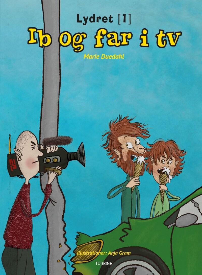 Image of   Ib Og Far I Tv - Marie Duedahl - Bog