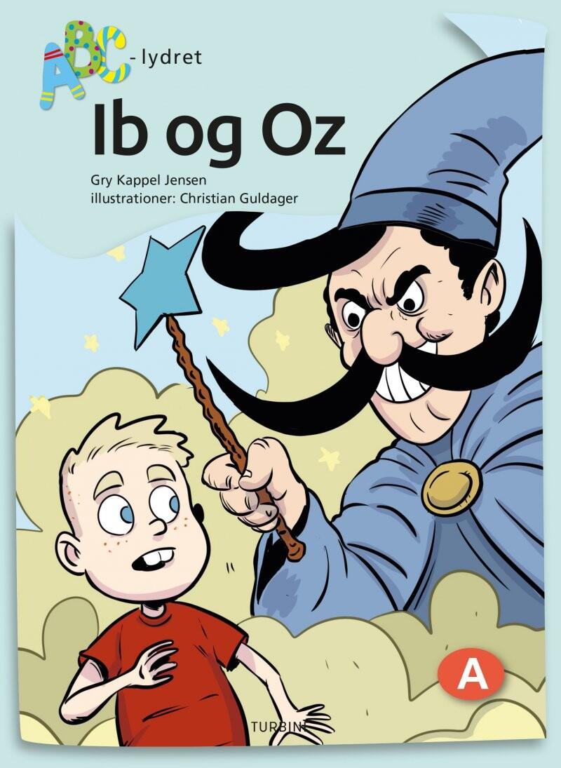 Image of   Ib Og Oz - Gry Kappel Jensen - Bog