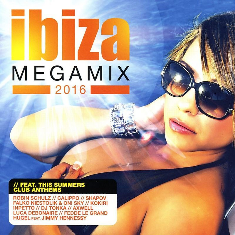 Image of   Ibiza Megamix 2016 - CD