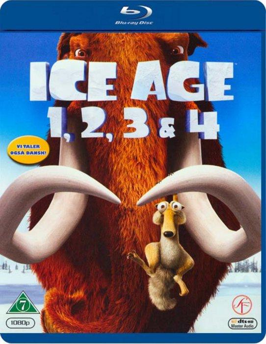 Image of   Ice Age 1-4 Box Set - Blu-Ray