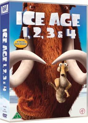 Billede af Ice Age 1-4 Box Set - DVD - Film