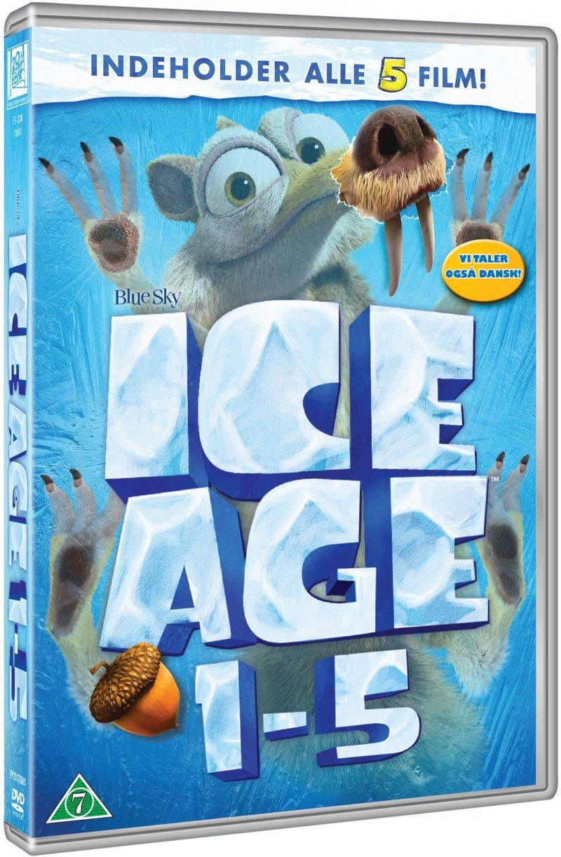 Billede af Ice Age 1-5 Box Set - DVD - Film