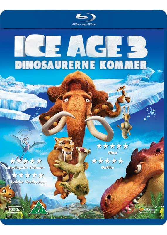 Image of   Ice Age 3 - Dinosaurerne Kommer - Blu-Ray