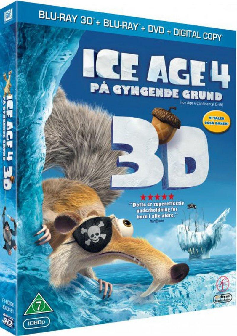 Image of   Ice Age 4: På Gyngende Grund (3d Blu-ray+dvd) -