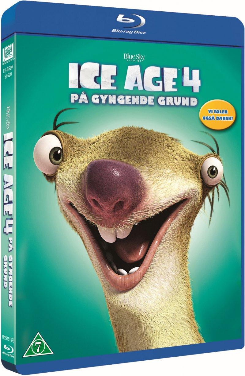 Image of   Ice Age 4: På Gyngende Grund - Blu-Ray