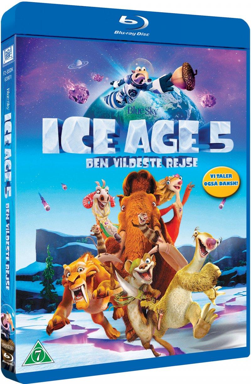 Image of   Ice Age 5: Den Vildeste Rejse - Blu-Ray