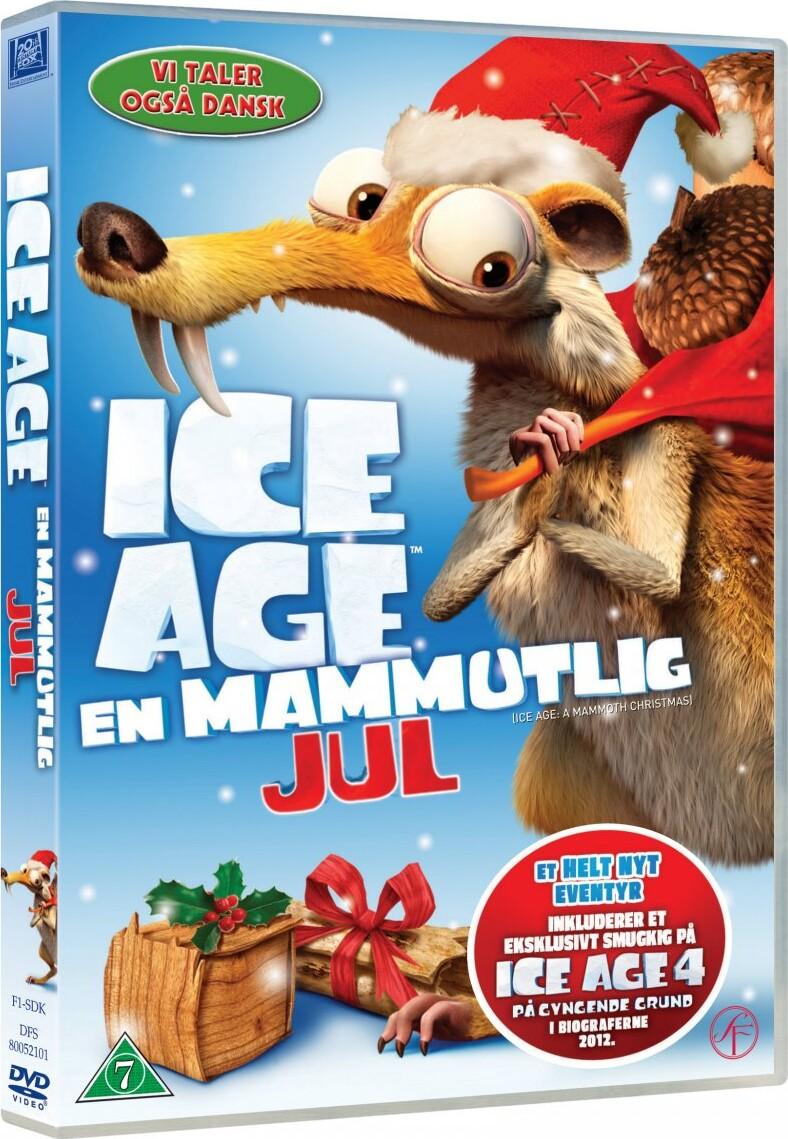 Billede af Ice Age - En Mammutlig Jul - DVD - Film