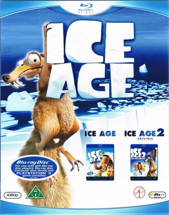 Image of   Ice Age // Ice Age 2: På Tynd Is - Blu-Ray
