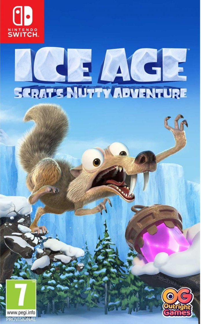 Image of   Ice Age: Scrats Nutty Adventure - Nintendo Switch