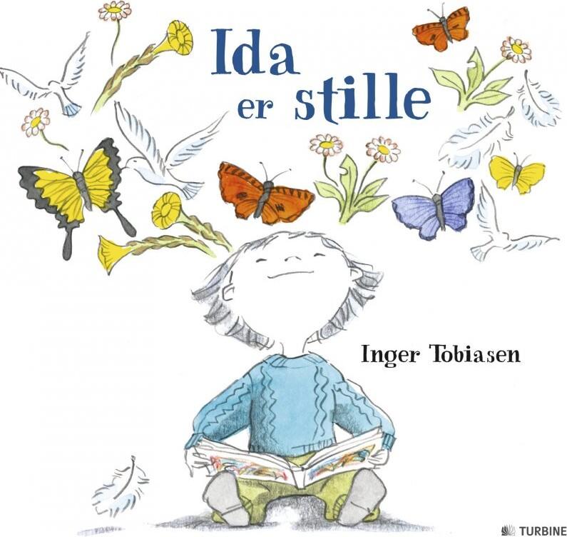 Image of   Ida Er Stille - Inger Tobiasen - Bog