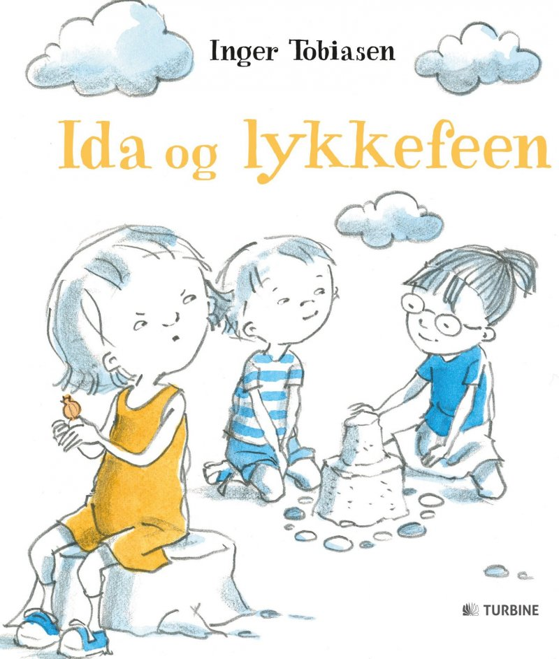 Image of   Ida Og Lykkefeen - Inger Tobiasen - Bog