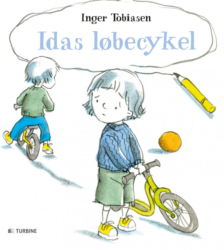 Image of   Idas Løbecykel - Inger Tobiasen - Bog