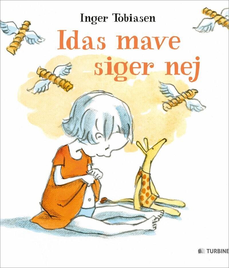 Image of   Idas Mave Siger Nej - Inger Tobiasen - Bog