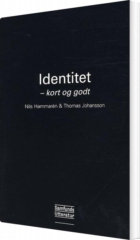 Image of   Identitet - Thomas Johansson - Bog