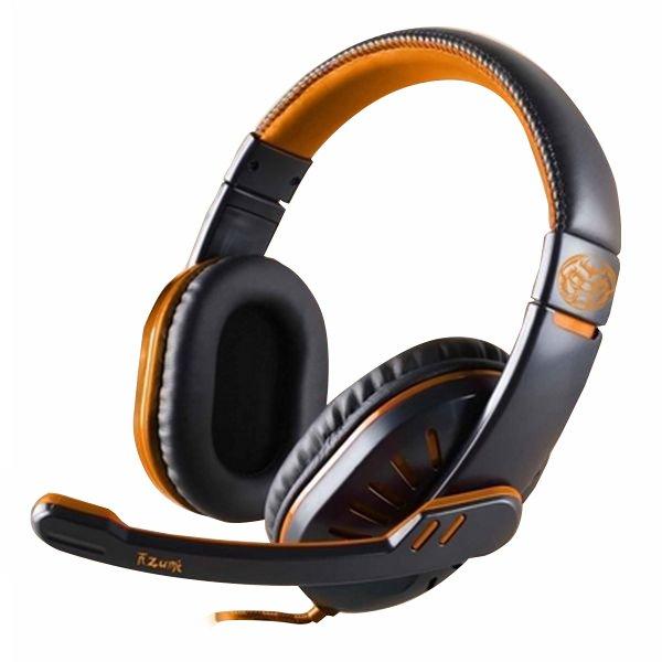 Image of   Iggual Onaji Gaming Høretelefoner Med Mikrofon - Sort Orange