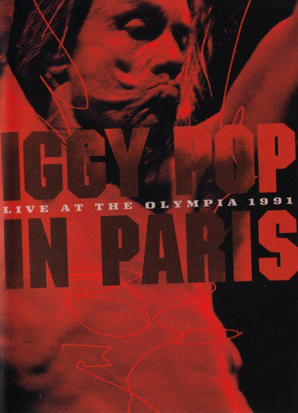 Iggy Pop - Live At The Olympia 1991 - DVD - Film