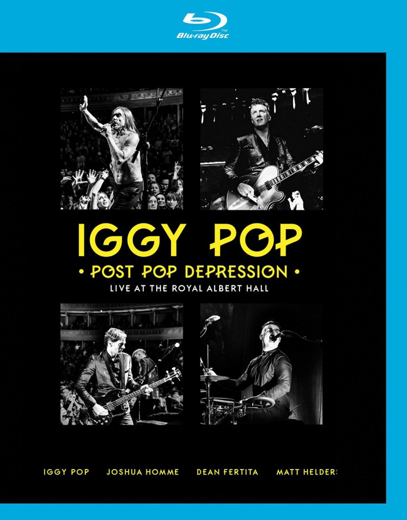 Image of   Iggy Pop Post Pop Depression: Live At The Royal Albert Hall - Blu-Ray