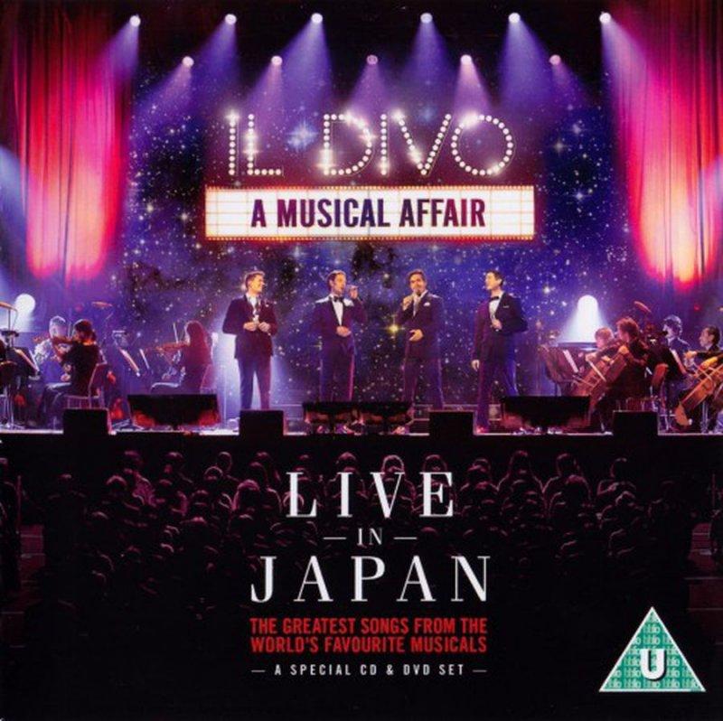 Il divo a musical affair live in japan cd dvd k b - Il divo bring him home ...