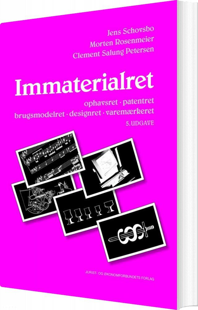 Immaterialret - Clement Salung Petersen - Bog