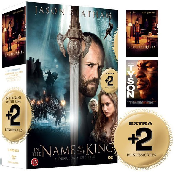 Image of   In The Name Of The King // The Strangers // Tyson - DVD - Film