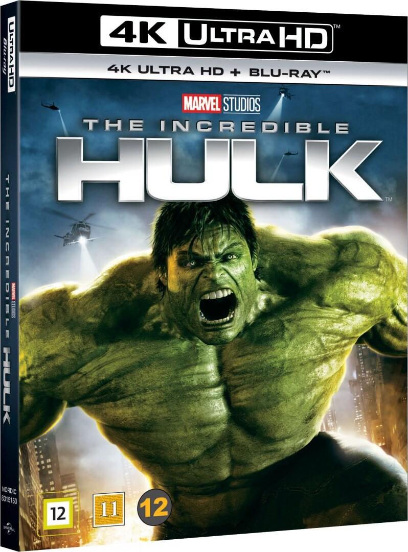 Image of   The Incredible Hulk - Edward Norton - 2008 - 4K Blu-Ray