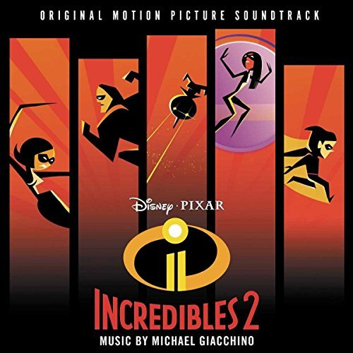 Image of   Michael Giacchino - Incredibles 2 Soundtrack - CD