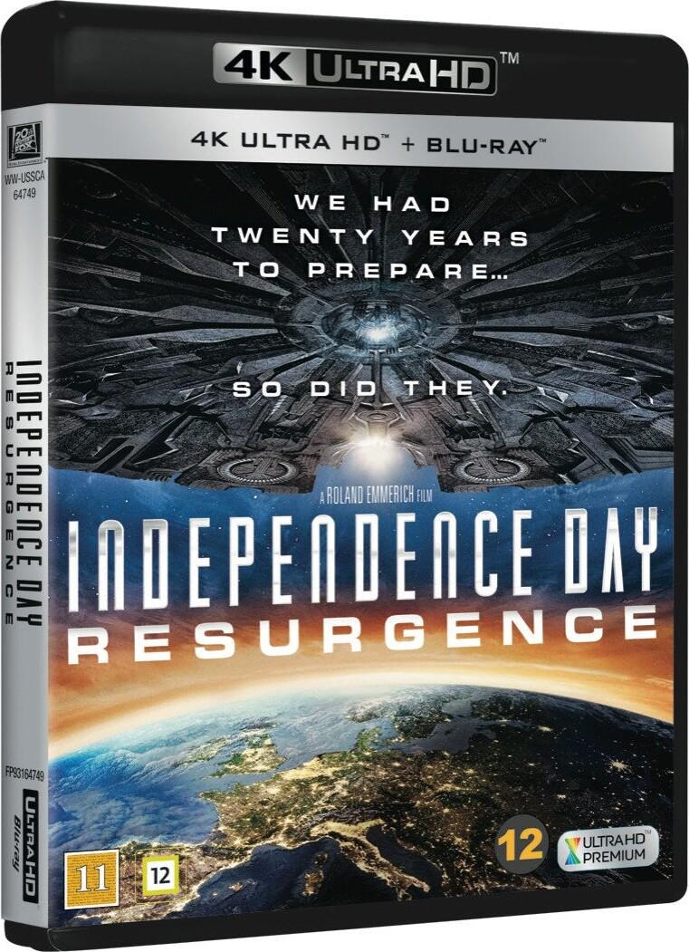 Image of   Independence Day 2 - Resurgence - 4K Blu-Ray