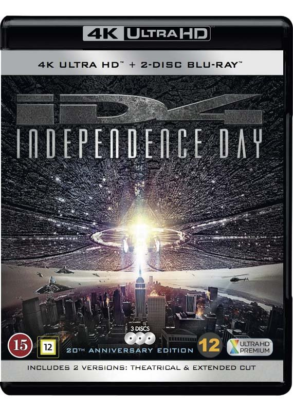 Image of   Independence Day 20th Anniversary Edition - 4K Blu-Ray