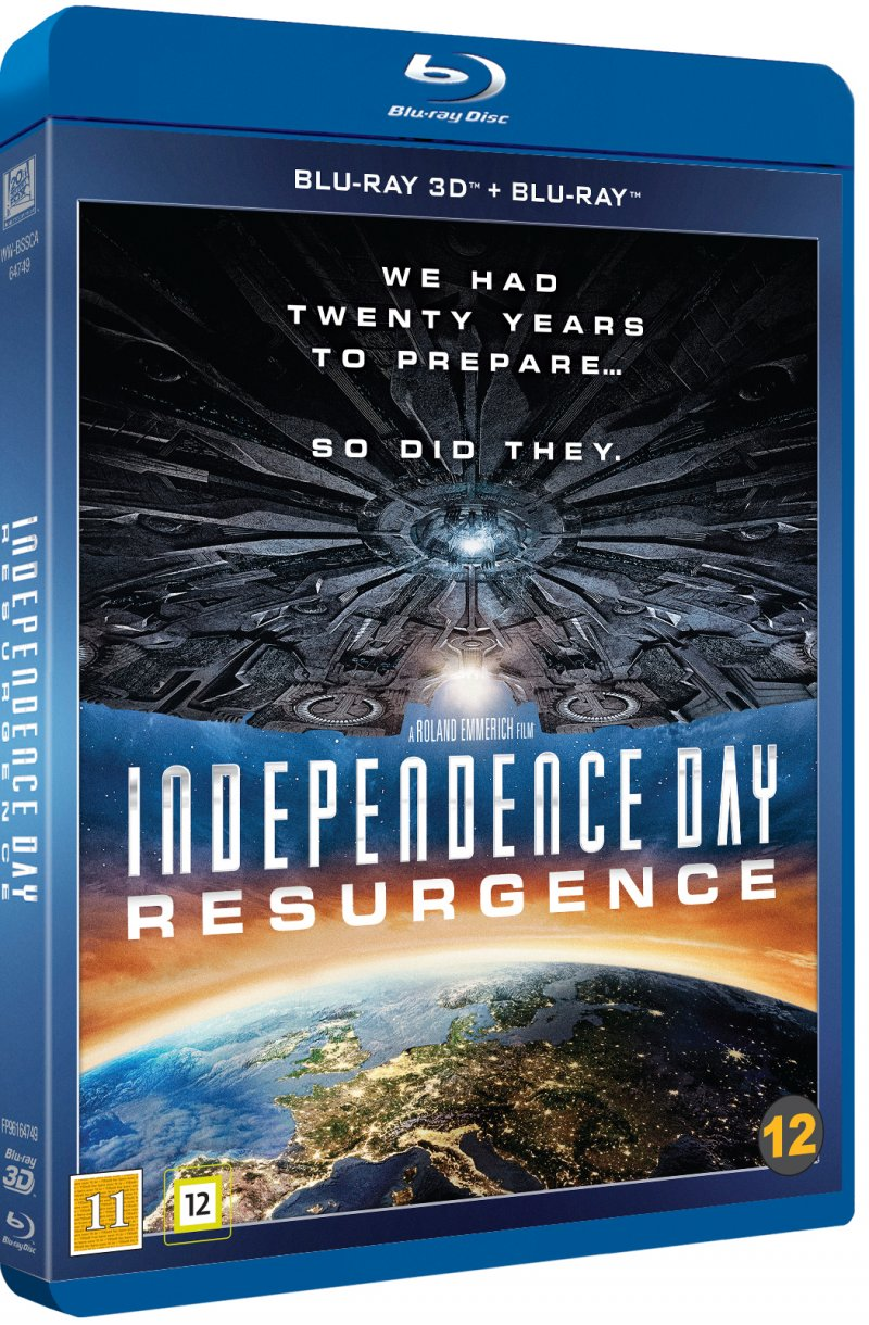 Image of   Independence Day 2 - Resurgence - 3D Blu-Ray