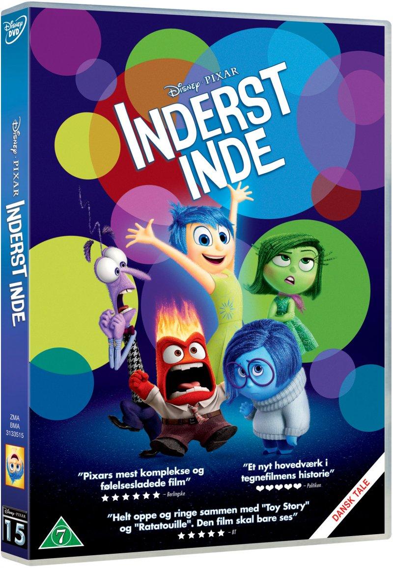 Billede af Inderst Inde - Disney Pixar - DVD - Film