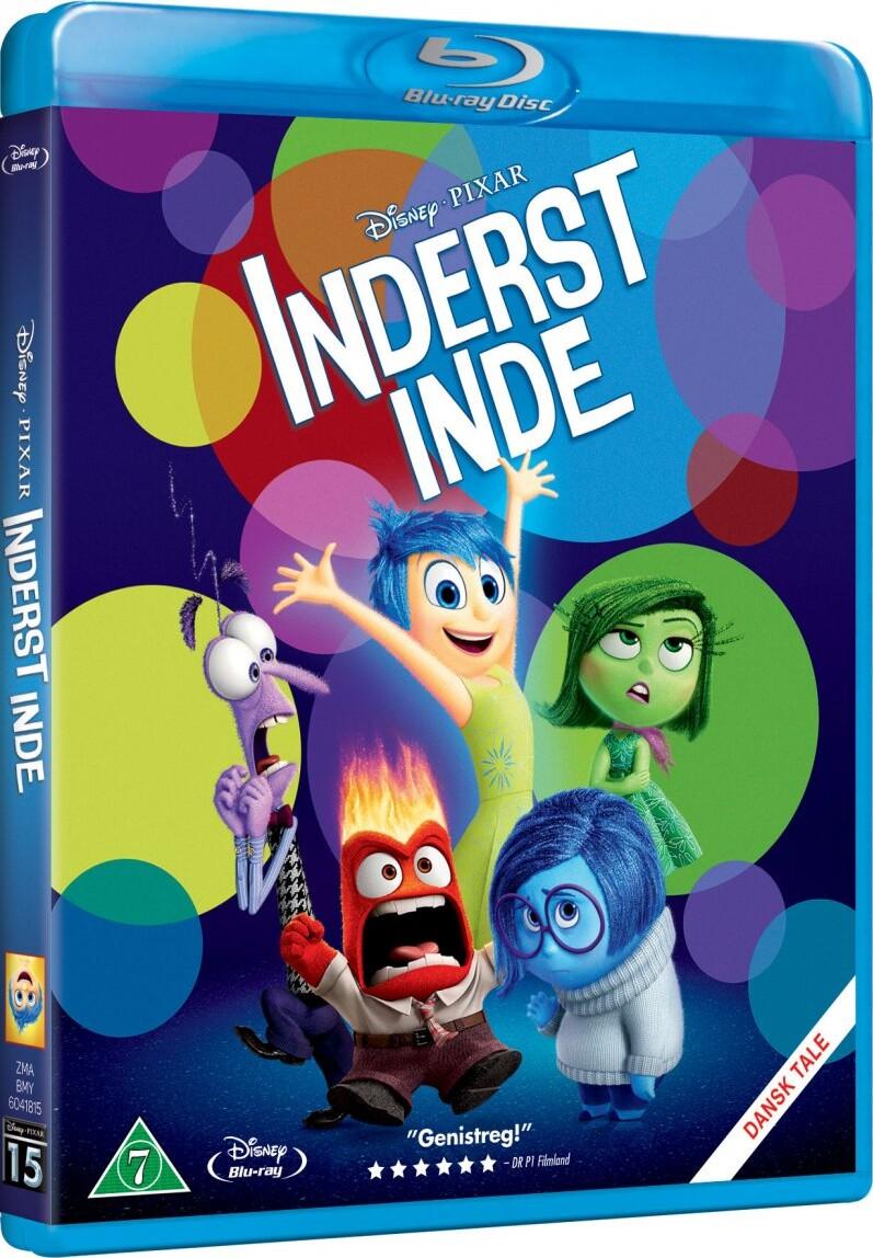 Image of   Inderst Inde - Disney Pixar - Blu-Ray