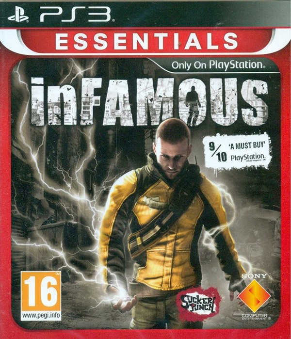 Image of   Infamous (essentials) (nordic) - PS3