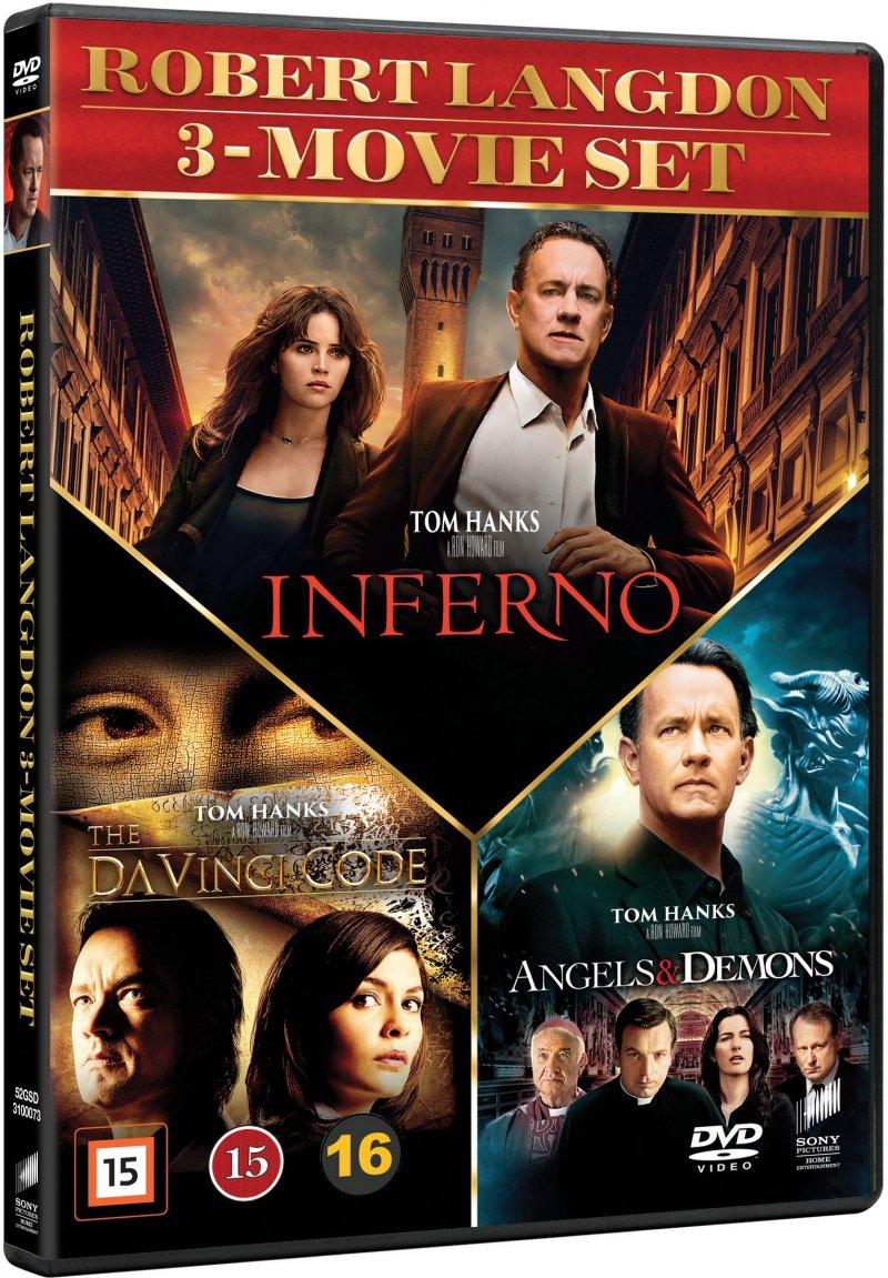 Billede af Inferno // The Da Vinci Code // Engle Og Dæmoner - DVD - Film