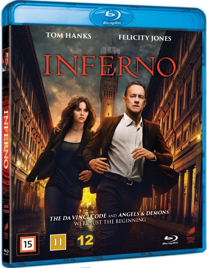 Image of   Inferno - 2016 Dan Brown - Blu-Ray