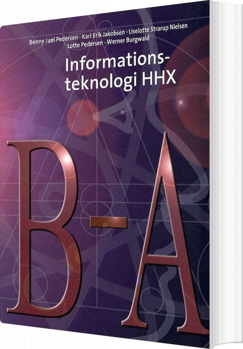 Image of   Informationsteknologi Hhx - Benny Juel Pedersen - Bog