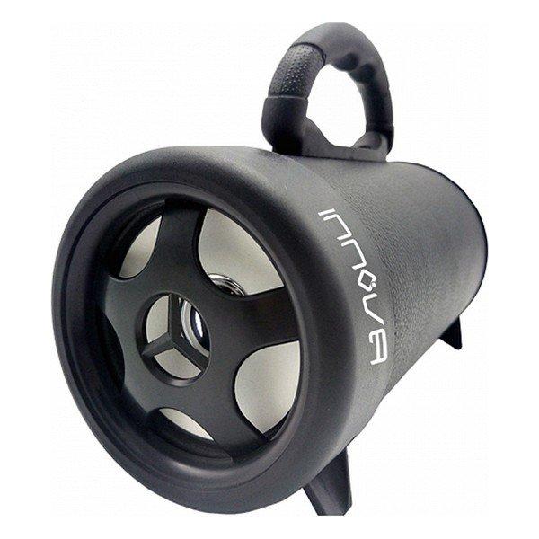 Image of   Innova Bazooka - Transportabel Bluetooth Højtaler Med 4 Timers Musik - Sort