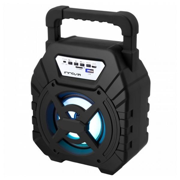 Image of   Innova - Transportabel Trådløs Bluetooth Højtaler - Alt/29b 5w - Sort