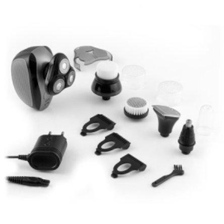 Image of   Innovagoods - 5-i-1 Barbermaskine Og Næsehårstrimmer - Sort Grå