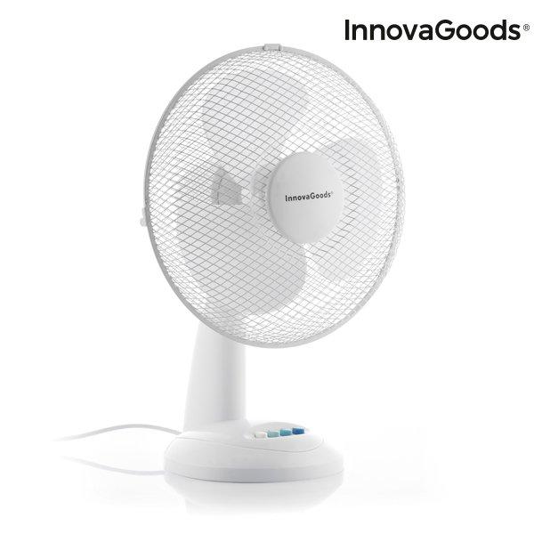 Image of   Innovagoods - Bordventilator - Hvid