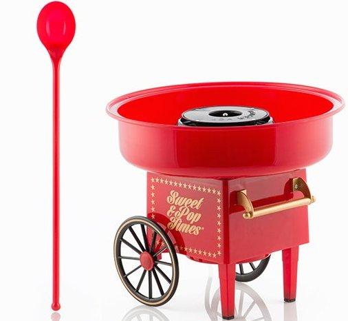Image of   Innovagoods Candyfloss Maskine 500w - Rød