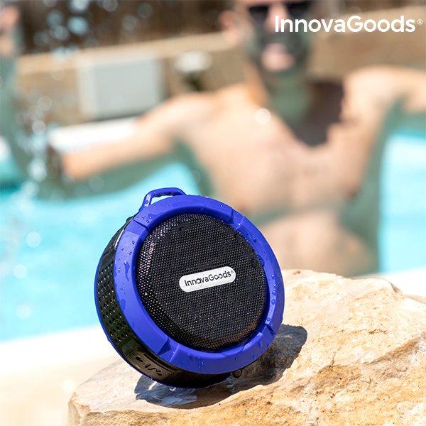 Innovagoods Dropsound – Trådløs Vandafvisende Bluetooth Højtaler