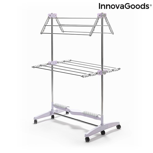 Image of   Innovagoods - Elektrisk Tørrestativ - Foldbart - Breazy - 24w