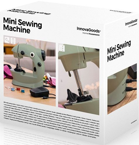 Image of   Innovagoods Grøn Mini Symaskine 6v 800 Ma