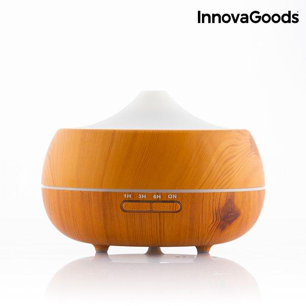 Image of   Innovagoods - Luftfugter - Aromaterapeutisk Træduft
