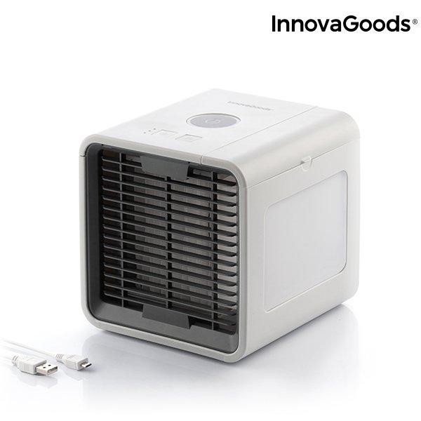Image of   Innovagoods - Mini Luftkøler Airconditioner Med Led Lys - Hvid