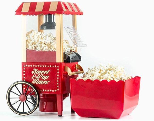 Image of   Innovagoods Popcornmaskine - Sweet & Pop Times 1200w - Rød